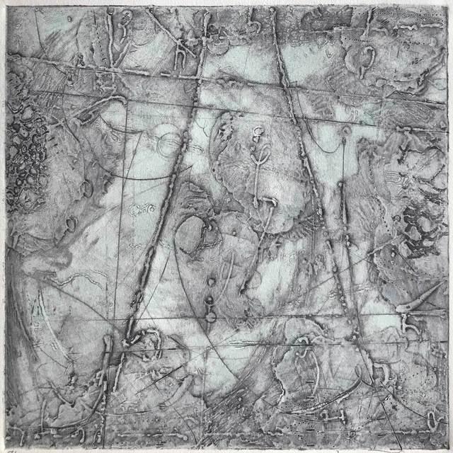 , 'Remnant Topography 7,' 2017, Warnock Fine Arts