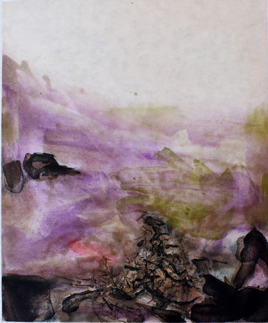Zao Wou-Ki 趙無極, 'Composition V, from: Canto Pisan', 1972, Gilden's Art Gallery