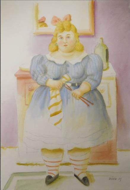 , 'La tejdora,' 2009, Pablo Goebel Fine Arts