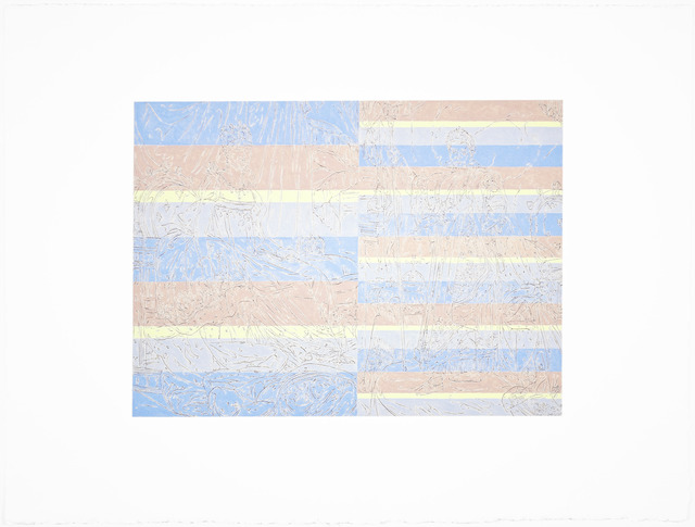 Samuel Stabler, 'Untitled (Patterned Neon Old Master),' 2013, Garis & Hahn