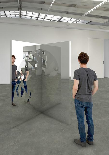 , 'Fragmented Circle,' 2018, Galleri Nicolai Wallner