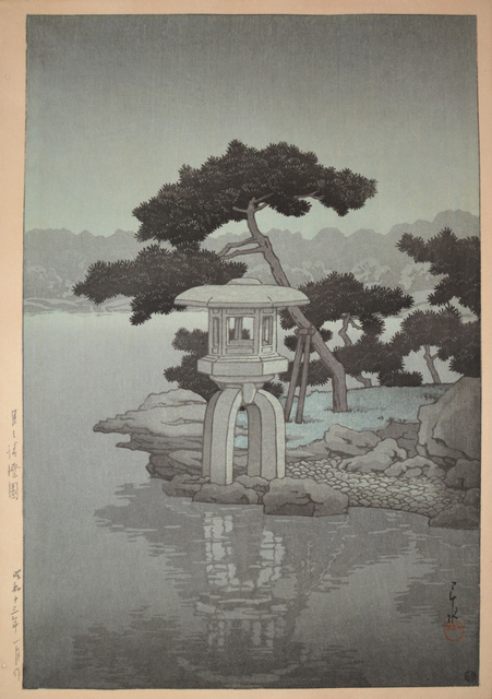 , 'Kiyosumi Garden in Moonlight,' 1938, Ronin Gallery