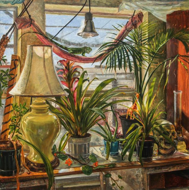 , 'Still Life With Iguana, Oakland California,' 2016, Treason Gallery