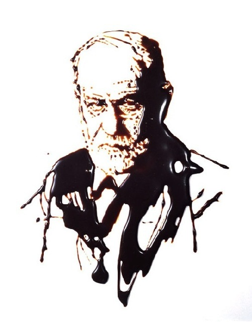 Vik Muniz, 'Sigmund Freud (From Pictures of Chocolate)', 1997, James Harris Gallery