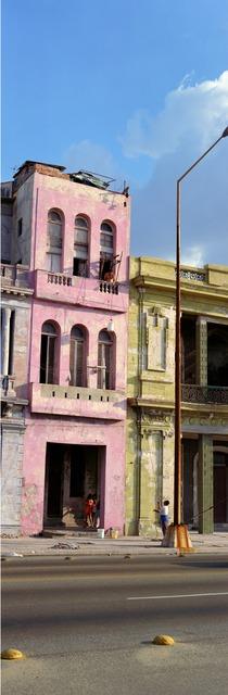 Wim Wenders, 'The Pink Building, Havana', 1998, James Cohan