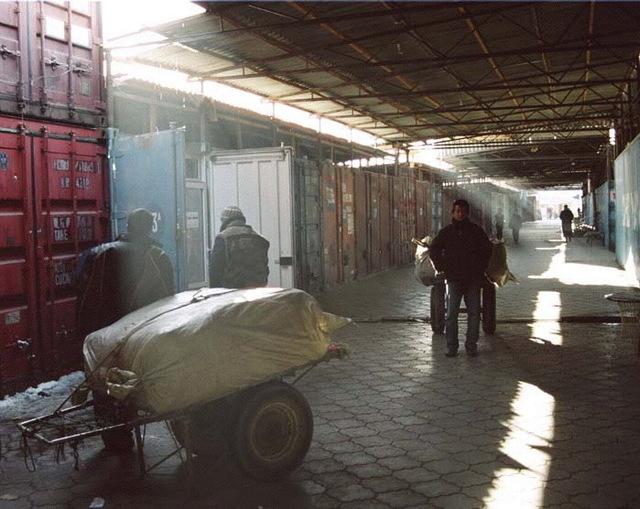 Gulnara Kasmalieva & Muratbek Djumaliev, 'End of the Market Day', 2006, Winkleman Gallery