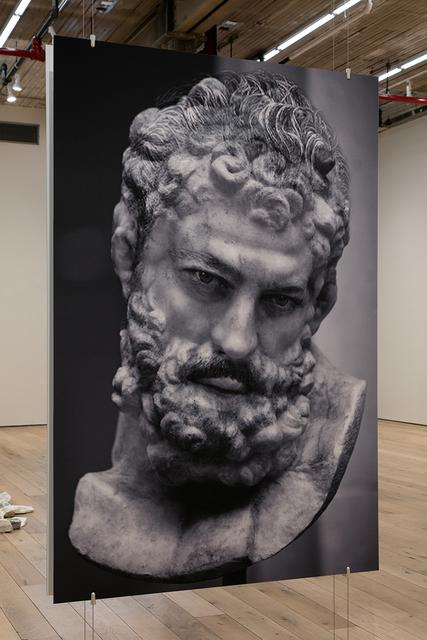 , 'Head of Hercules 2,' 2018, MARTOS GALLERY