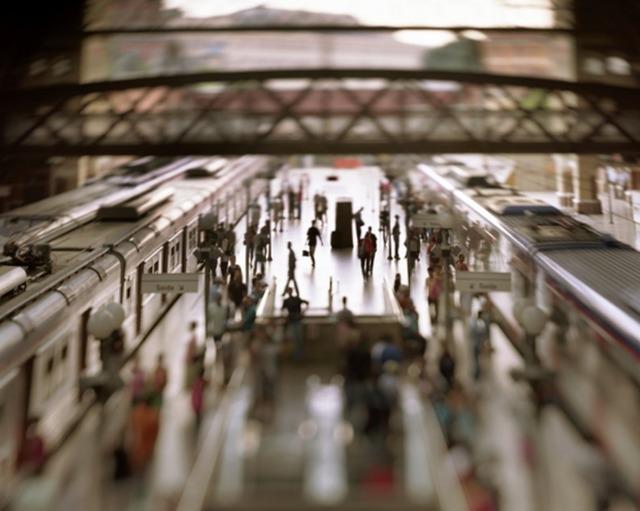 , 'LUZ STATION, SAO PAULO,' 2004, Galeria Lume