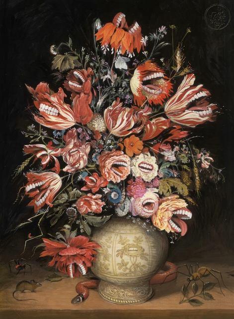 , 'Fleurs qui Mordent,' 2017, Helikon Gallery & Studios