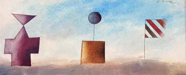 , 'Monuments 3 (framed),' 2018, Queenscliff Gallery & Workshop