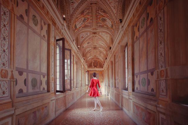 , 'Palazzo Ducale Mantova #5 (Corridoio dei Mori) ,' 2018, MLB Home Gallery