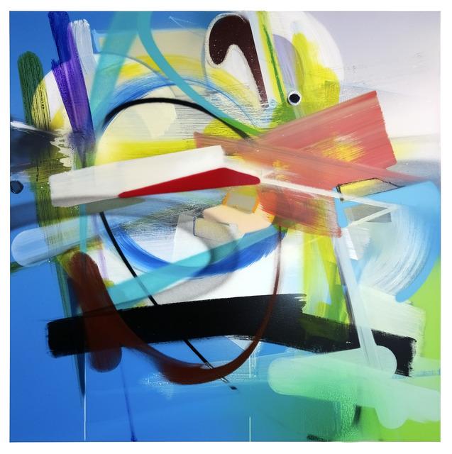 , 'UNTITLED (TURQUOISEBLUE),' 2015, KOLLY GALLERY