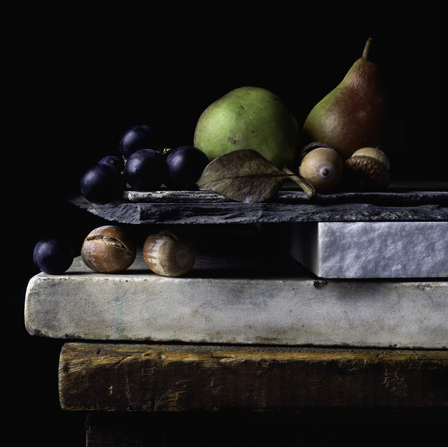 , 'Still Life with Acorns, Grapes, and Pears,' 2014, Pucker Gallery