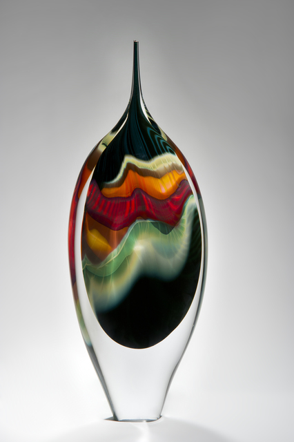 , 'Black Paradiso,' 2017, London Glassblowing Gallery