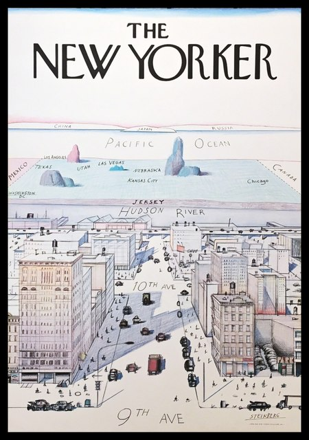 Saul Steinberg, 'The New Yorker', 1976, Alpha 137 Gallery