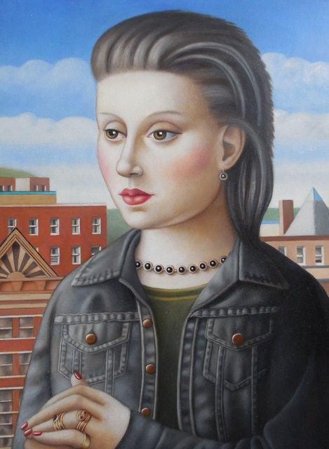 , 'Woman with High Hair,' 2017, Lois Lambert Gallery