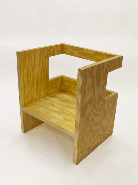 , 'Cube Chair (+ Subtraction),' 2010, Patrick Parrish Gallery