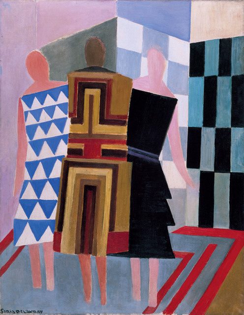 , 'Simultaneous Dresses (The three women),' 1925, Tate Modern