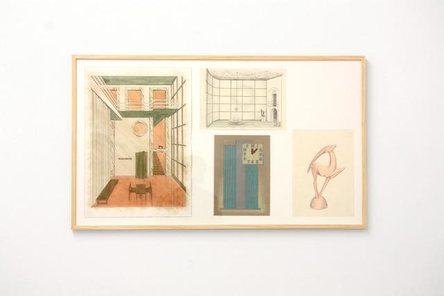 , 'Project for an Objectivist Hallway,' 2012, Micheline Szwajcer