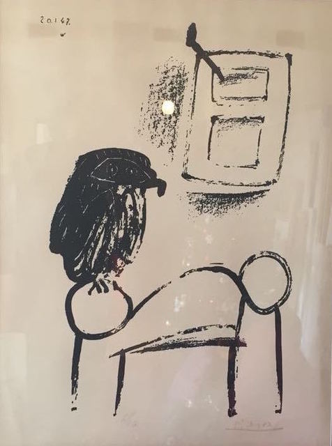 , 'Le Hibou Au Fond Blanc (Owl with White Background),' 1947, Gallery On The Move