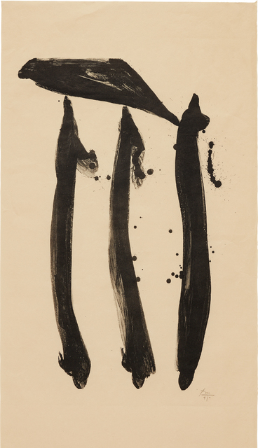 Robert Motherwell, 'El General, State I', 1980, Phillips