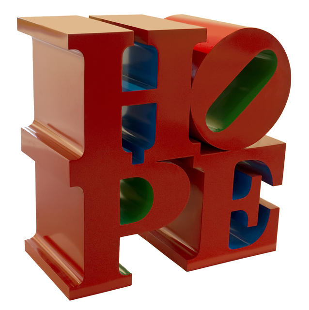 , 'HOPE (Red/Blue/Green),' 2009, Rosenbaum Contemporary