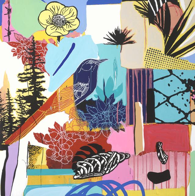 , 'Patchwork,' 2018, Samuel Owen Gallery