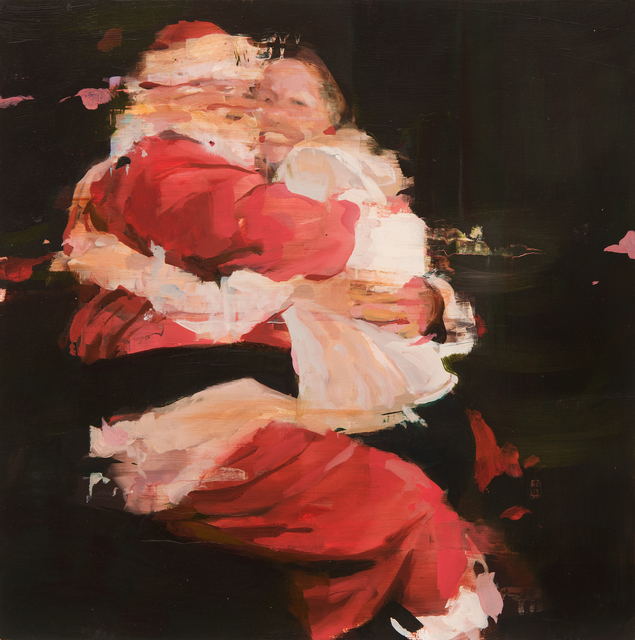 , 'H.H. with Santa Claus,' 2014, Hollis Taggart Galleries