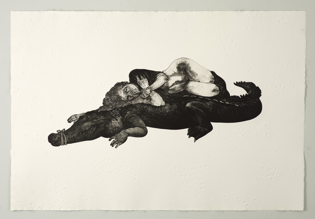 , 'Let Sleeping Crocs Lie,' 2012, David Krut Workshop