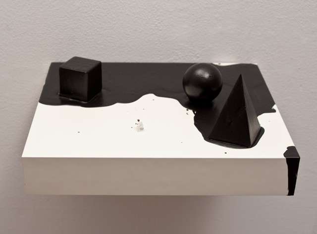 , 'The Attempt (with black shapes),' 2016, Mor Charpentier