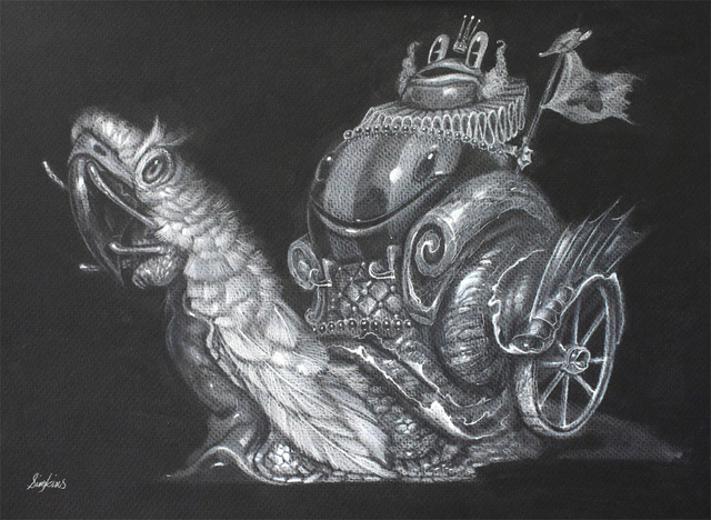 Greg 'Craola' Simkins, 'The Wealthy Traveler', 2015, KP Projects