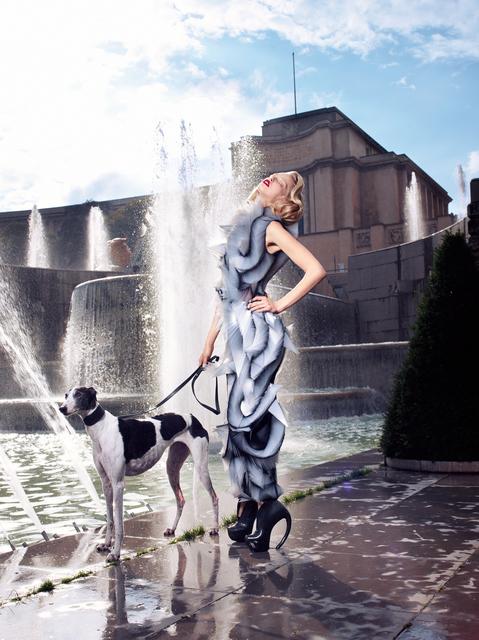 , 'Tanya, Haute Couture by Iris Van Herpen, L'Officiel, Paris,' 2011, Galerie Dumonteil