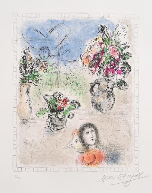 Marc Chagall, 'Les Trois Bouquets', Halcyon Gallery