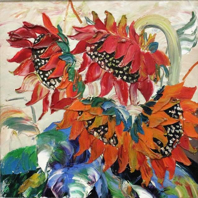 , 'Sunflowers rouge,' 2010, A-Art Shengzan Gallery
