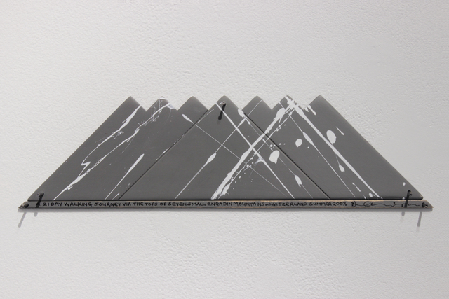 Hamish Fulton, 'A 21 DAY WALKING JOURNEY  VIA THE TOPS OF SEVEN SMALL ENGADIN MOUNTAINS  SWITZERLAND 2007', Josée Bienvenu