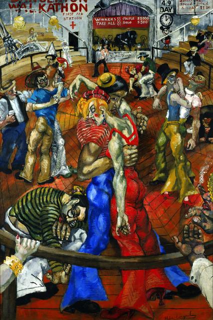 Philip Evergood, 'Dance Marathon', 1934, Blanton Museum of Art