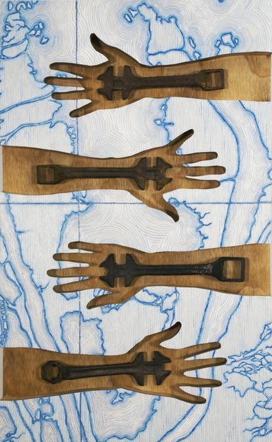 , 'Life Lines,' 2016, Coagula Curatorial