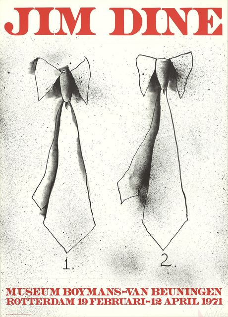 Jim Dine, 'Two Ties', 1971, Ephemera or Merchandise, Stone Lithograph, ArtWise