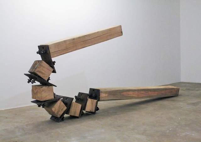 , 'Corpo articulado que curva pela força,' 2017, Galeria Karla Osorio