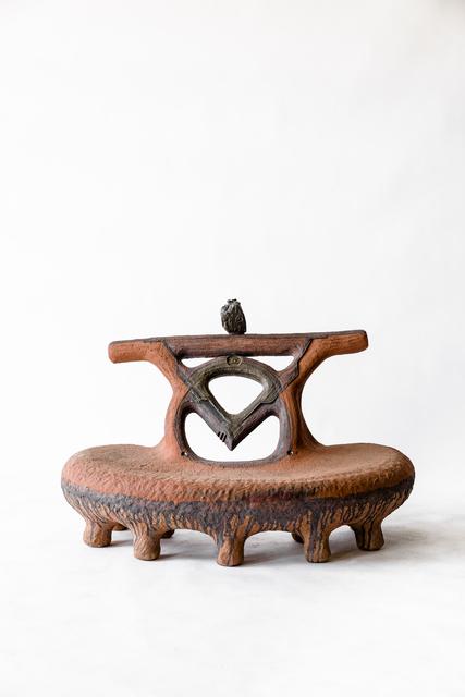 Andile Dyalvane, 'uMama (Mother)', 2020, Design/Decorative Art, Partially glazed terracotta clay, Friedman Benda