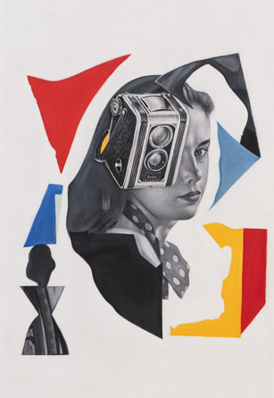 Mario Zoots, 'Untitled (Woman with Camera/Dafen 1, EU)', 2019, k contemporary