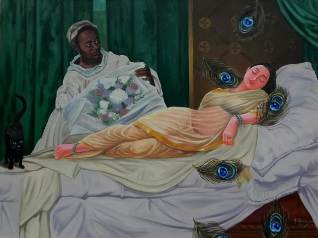 , 'Confluence- 6,' 2017, Arushi Arts