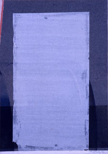 , 'Sgranato,' 1981, CARDI GALLERY