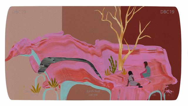, 'Earth Bed,' , Hashimoto Contemporary