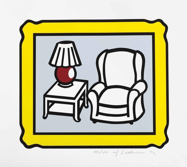 Roy Lichtenstein, 'Red Lamp', 1992, Christie's