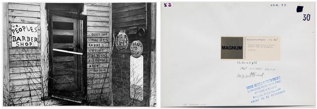 , 'Broken Down House A Former Barber Shop in Alabama, pl 55,' 1965, Clark Gallery