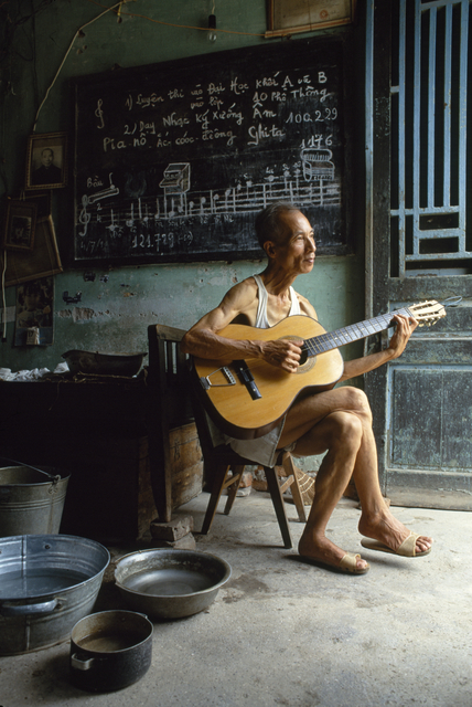 , 'Music Professor,' 1990, Art Vietnam Gallery