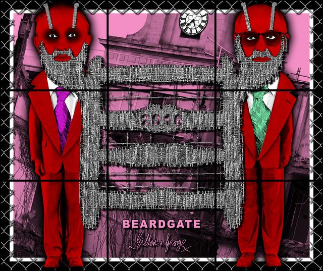 , 'Beardgate,' 2016, Lehmann Maupin