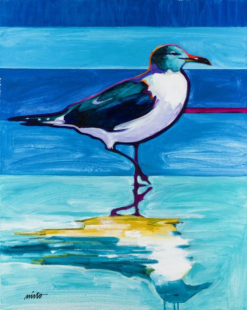 , 'Seagull Reflections,' 2015, Ventana Fine Art