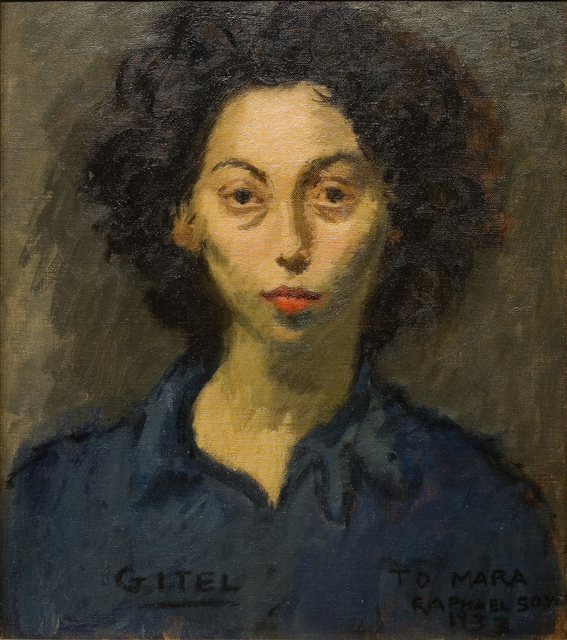 , 'Gitel,' 1933, Forum Gallery